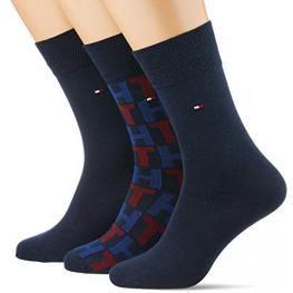 Tommy Hilfiger Calcetines Pack3 Caja Carton 492002001 085 039 Negro T.39/42