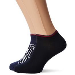 Tommy Hilfiger Calcetin Pack2 Sneaker/invisible 392001001 105 039 Azul T.39/42