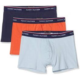 Tommy Hilfiger Boxer Pac 3 Cotton Stretch U87903842  C. Az/naranja/marino T.Xl