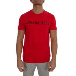 Calvin Klein   Swimwear Camiseta Hombre M/c Km0Km00479 Xbg Rojo/logo T.M