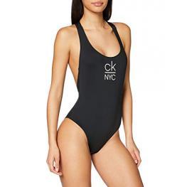 Calvin Klein Bañador Mujer S/aro Kw00986 Beh   Negro T.S