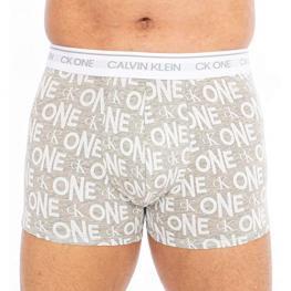 Calvin Klein Boxer/trunk Nb2216A Lp5 Gris/letras T.Md