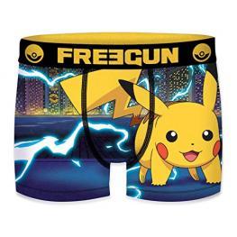 Boxer Unitario Infantil Pokemon Freegun