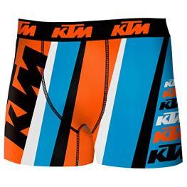 Boxer Infantil Ktm Microfibra Multicolor