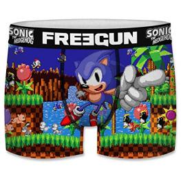 Boxer Unitario Infantil Sonic The Hedgehog Freegun