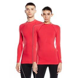 Camiseta Deportiva Técnica Unisex Con Tecnología Biotech Color Rojo