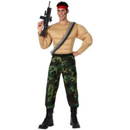 Disfraz de Rambo Talla Xl