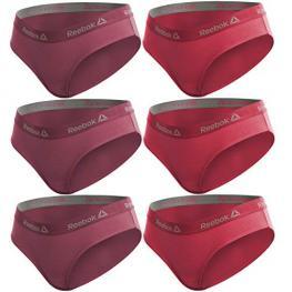 Set de Set 6 Culottes Deportivos Para Mujer Reebok - Rosa Fuerte + Rosa