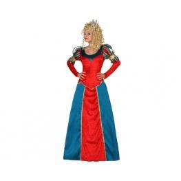Disfraz Reina Medieval, Adulto T. 2
