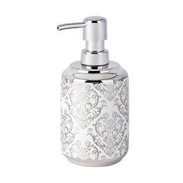 Dosificador de Jabón Blanco/plata