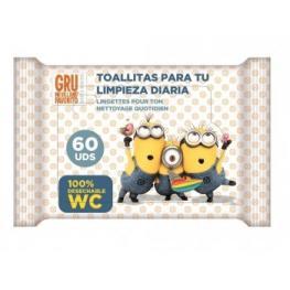 Toallitas Wc 60Ud Junior Minions