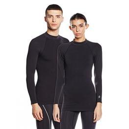 Camiseta Deportiva Técnica Unisex Con Tecnología Biotech Color Negro