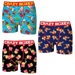 Set 3 Boxer Crazy Boxer- Multicolor