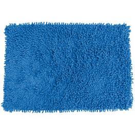 Alfombra de Baño Algodón 80X50Cm Oruga Azul