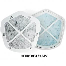 10Pcs Filtros Recambio Purificador Personal Delta