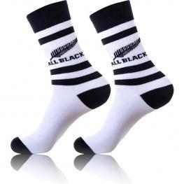 1Par Calcetines All Blacks - Algodón - Color Blanco