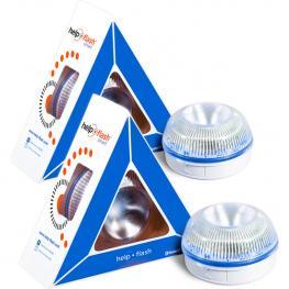 2X Help Flash Smart - Luz de Emergencia Autónoma, Señal V16