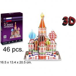 3D Puzzle Catedral de San Basilio Russia