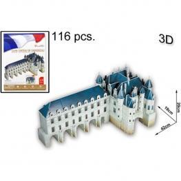 3D Puzzle Chateau de Chenonceau 116 Pcs