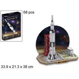 3D Puzzle Saturn V Rocket