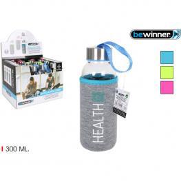 48 Botella Agua Vid.Funda Health 300Ml