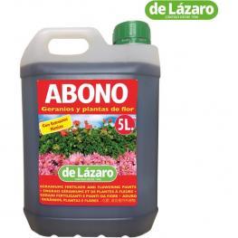 Abono Geranios y Plantas de Flor 5Lts