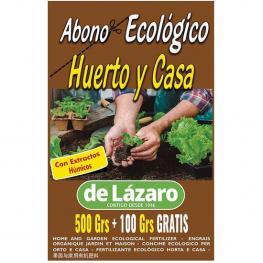 Abono Huerto y Casa Eco 500+100 Grs
