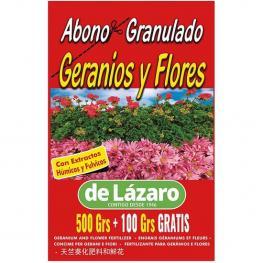 Abono Plantas de Flor y Geranios 500+100Grs