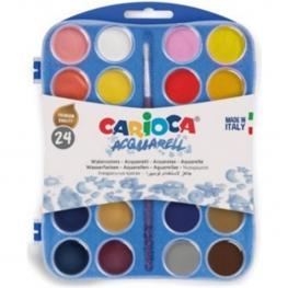 Acuarelas 24 Colores