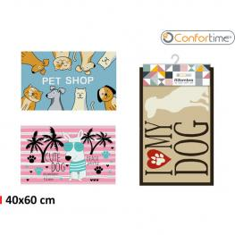 Alfombra 40X60Cm Pets 3S Printed Confortime