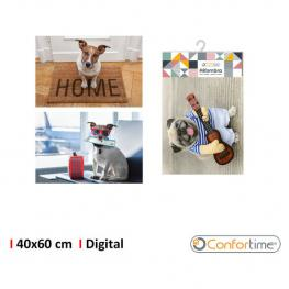 Alfombra 40X60Cm Pets Digital Confortime - Surtidos
