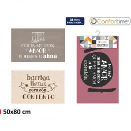 Alfombra 50X80Cm Kitchen 3S Print. Confortime