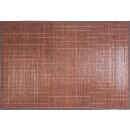 Alfombra Bambú Marrón 1200 Mm X 1800 Mm X 10 Mm