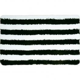 Alfombra de Baño Microfibra 50 X 80 Cm Negro