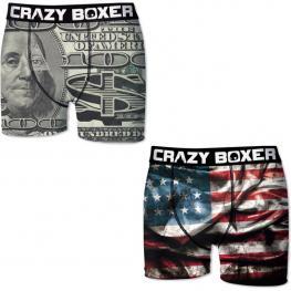 Set 2 Boxer Crazy Boxer Usa