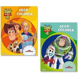 Libro Toy Story Pega y Colorea-Surtido