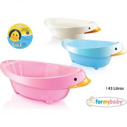 Bañera Infantil Duck 43L For My Baby - Colores Surtidos