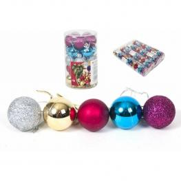 Bolas de Navidad 25Pcs 3Cm