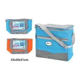 Bolsa Nevera Soft 33X20X31Cm Azul