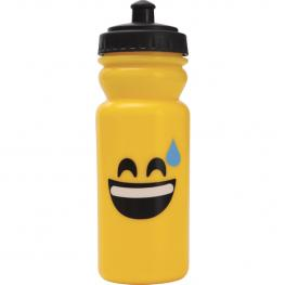 Botella 600Ml Plastico Edición Emoticon - Gota Sudor