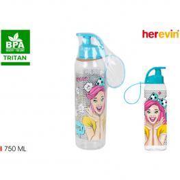 Botella Agua 750Ml Tritan