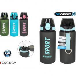 Botella Sport Agua 550Ml Bewinner
