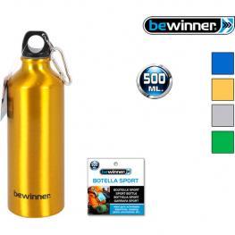 Botella Sport Aluminio 500Ml Bewinner - Colores Surtidos