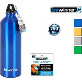 Botella Sport Aluminio 750Ml Bewinner - Colores Surtidos