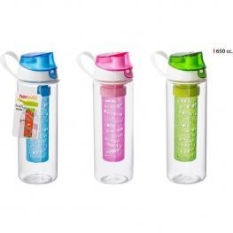 Botella Sport C/infusor 650Ml - Colores Surtidos