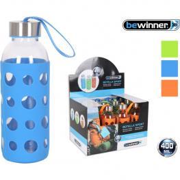 Botella Sport Vidrio 7X19,8Cm Bewinner - Colores Surtidos