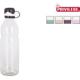 Botella Vidrio 075L C/tapon Plast Privilege