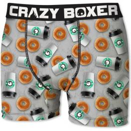 Boxer Crazy Boxer Donut And Coffee