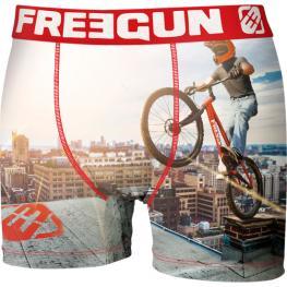 Boxer Hombre Freegun Bmx Urban Sport - Unitario - Microfibra
