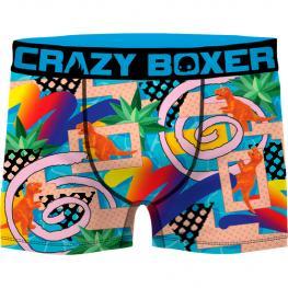 Boxer Unitario Crazy Boxer - Microfibra  - Multicolor